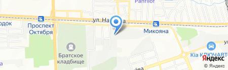 ВТТ-Дон на карте Ростова-на-Дону