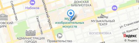 Любимые продукты на карте Ростова-на-Дону