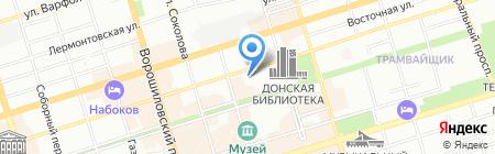 Мистер Кофф на карте Ростова-на-Дону