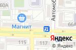 Схема проезда до компании Рыжий кот в Ростове-на-Дону