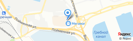 Банкомат КРЕДИТ ЕВРОПА БАНК на карте Ростова-на-Дону