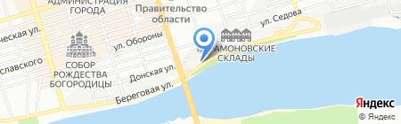 Колхоз на карте Ростова-на-Дону