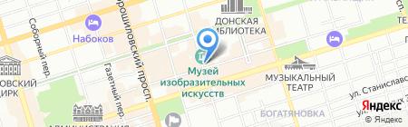 Рукоделие на карте Ростова-на-Дону