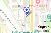 Схема проезда до компании РЯЗАНСКИЙ ФИЛИАЛ УНИВЕРСИТЕТА СВЯЗИ в Рязани