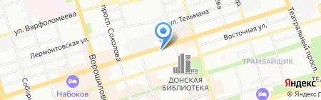 Детский сад №45 для детей раннего возраста на карте Ростова-на-Дону