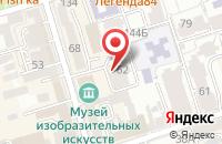 Схема проезда до компании Пи Ар Эксперт в Ростове-На-Дону