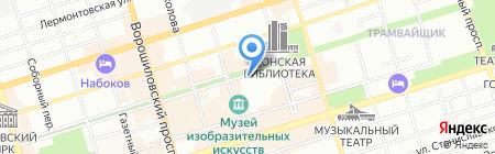 Банкомат СКБ-Банк на карте Ростова-на-Дону