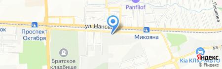 АртФасад на карте Ростова-на-Дону