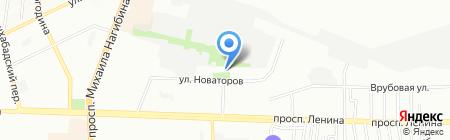 Примула+ на карте Ростова-на-Дону