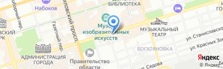 Русская аптека на карте Ростова-на-Дону