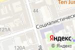 Схема проезда до компании МИР ЗДОРОВЬЯ в Ростове-на-Дону