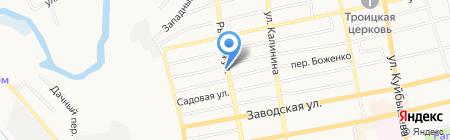 Детский сад №9 на карте Батайска