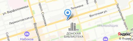 Спецстрой на карте Ростова-на-Дону
