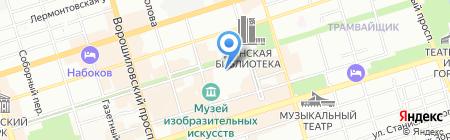 СИГМА на карте Ростова-на-Дону