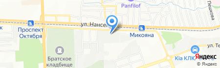 Интегра-Пласт на карте Ростова-на-Дону