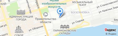 МАТ & ГЛЯНЕЦ на карте Ростова-на-Дону
