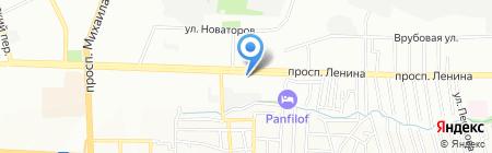 Цезарь на карте Ростова-на-Дону