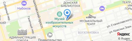 Паулинг на карте Ростова-на-Дону
