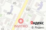 Схема проезда до компании Гламур в Сочи