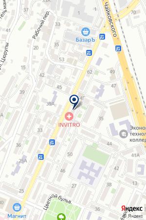 ТФ ПРОДКОМПАНИ-3 на карте Сочи