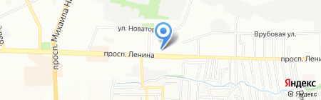 Чистый пол на карте Ростова-на-Дону