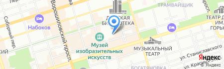 Сириус-К на карте Ростова-на-Дону