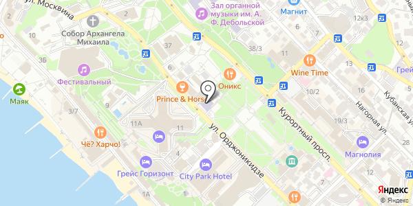 МИУ Международный инновационный университет. Схема проезда в Сочи