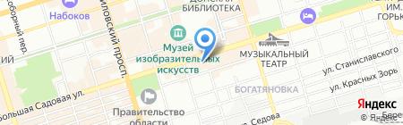 Море позитива на карте Ростова-на-Дону