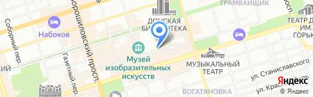 Подруги на карте Ростова-на-Дону