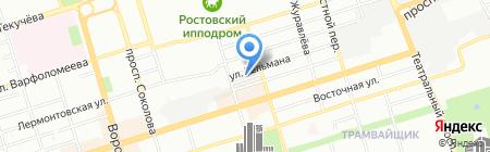Строительно-монтажное управление 61 на карте Ростова-на-Дону