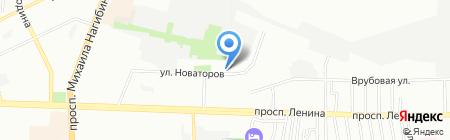 Пожарная часть №13 на карте Ростова-на-Дону