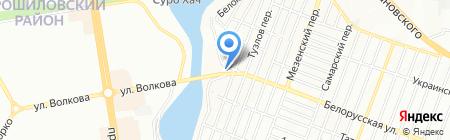 Планета Танца на карте Ростова-на-Дону