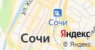 Продуктовый магазин на ул. Горького на карте