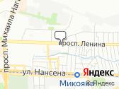 Стоматологическая поликлиника 1 Ворошиловского района Ростова на Дону на карте