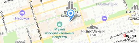 Сид-Холдинг на карте Ростова-на-Дону