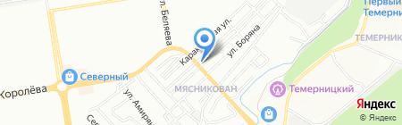 Витэм на карте Ростова-на-Дону