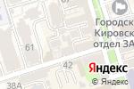 Схема проезда до компании Эклектика в Ростове-на-Дону