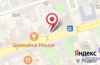Схема проезда до компании Премьер в Ростове-На-Дону