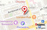 Схема проезда до компании Мэгэзин Медиа Групп в Ростове-На-Дону