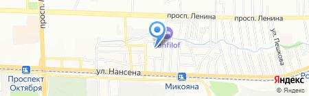 Вертол-Девелопмент на карте Ростова-на-Дону