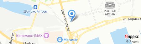 Росжилком на карте Ростова-на-Дону