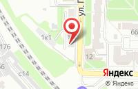 Схема проезда до компании Альгида в Рязани