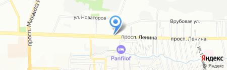 СтройФорм на карте Ростова-на-Дону