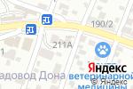 Схема проезда до компании Техноплаза в Ростове-на-Дону