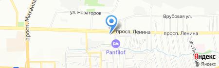 Мармарис на карте Ростова-на-Дону
