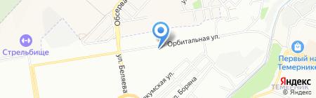 Улитка на карте Ростова-на-Дону