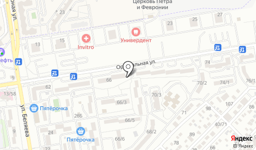 Улитка. Схема проезда в Ростове-на-Дону
