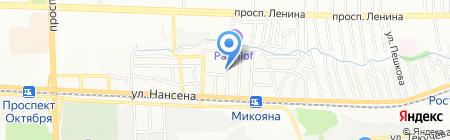 Электро-Профи на карте Ростова-на-Дону