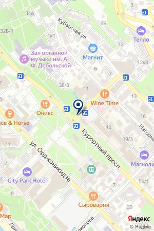 АПТЕКА 36,6 на карте Сочи
