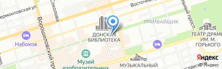 Терминал КБ Центр-инвест на карте Ростова-на-Дону